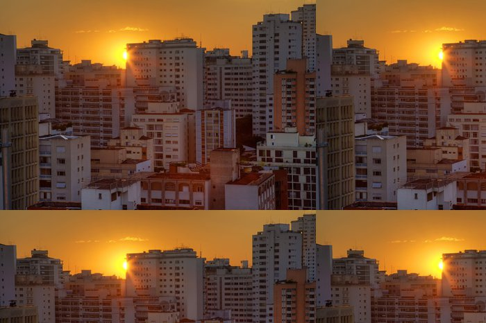 Tapeta Pixerstick Twilight ve městě Sao Paulo - Jiné