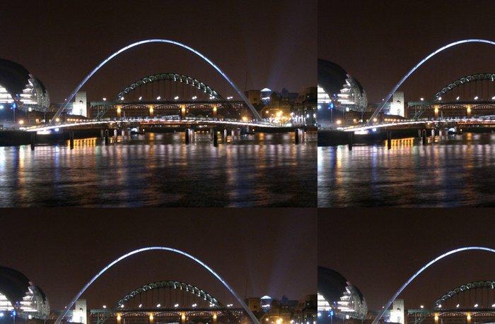 Vinylová Tapeta Tyne mosty - Infrastruktura
