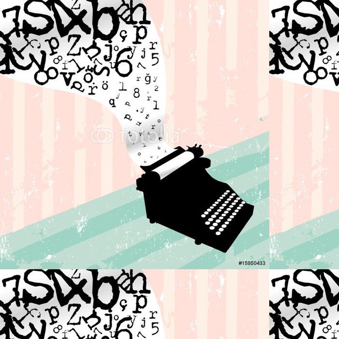 Vinylová Tapeta Typewriter - Umění a tvorba