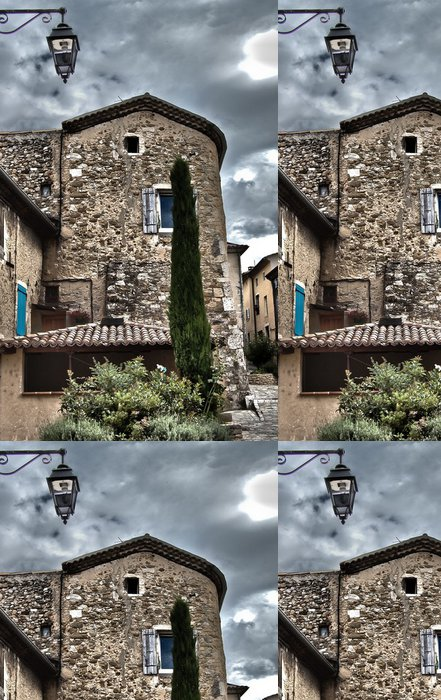 Tapeta Pixerstick Typické Provencal dům v HDR - Evropa