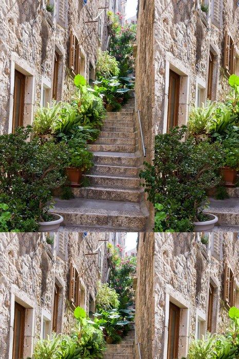 Tapeta Pixerstick Typické středomořské ulice - Témata