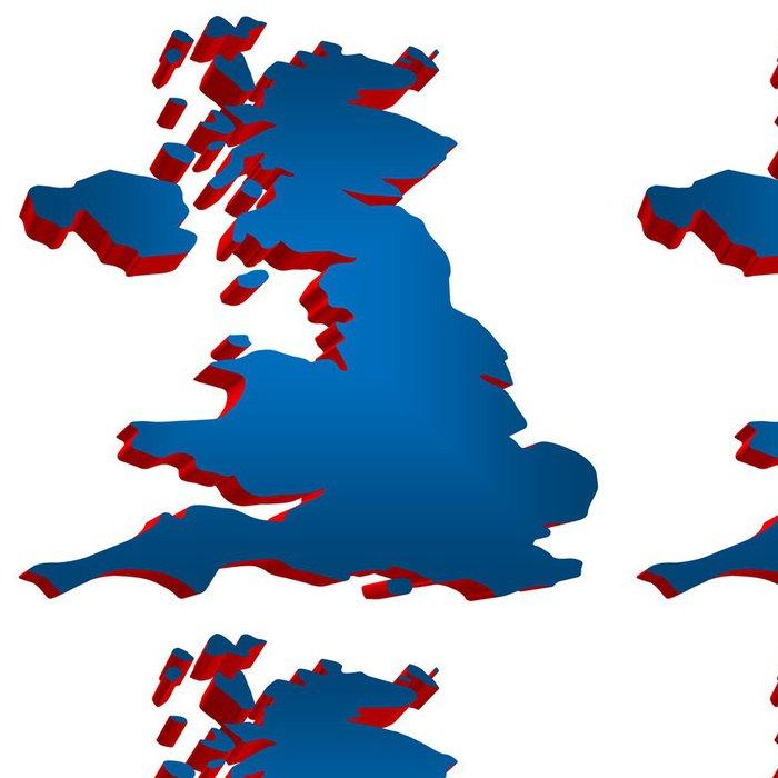 Tapeta Pixerstick UK 3d - Evropská města