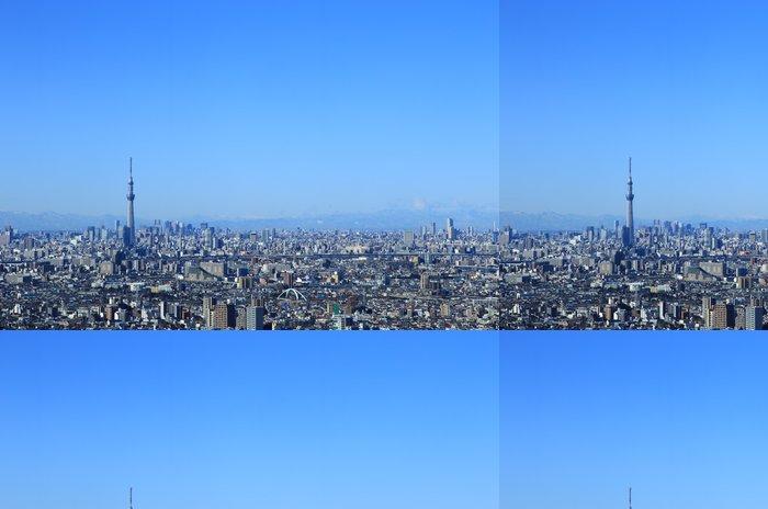 Tapeta Pixerstick Ulicích Tokia a městská krajina Tokyo Sky Tree - Asijská města