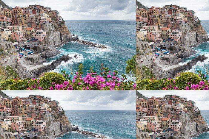 Tapeta Pixerstick UNESCO vesnice Manarola v národního parku Cinque Terre - Témata