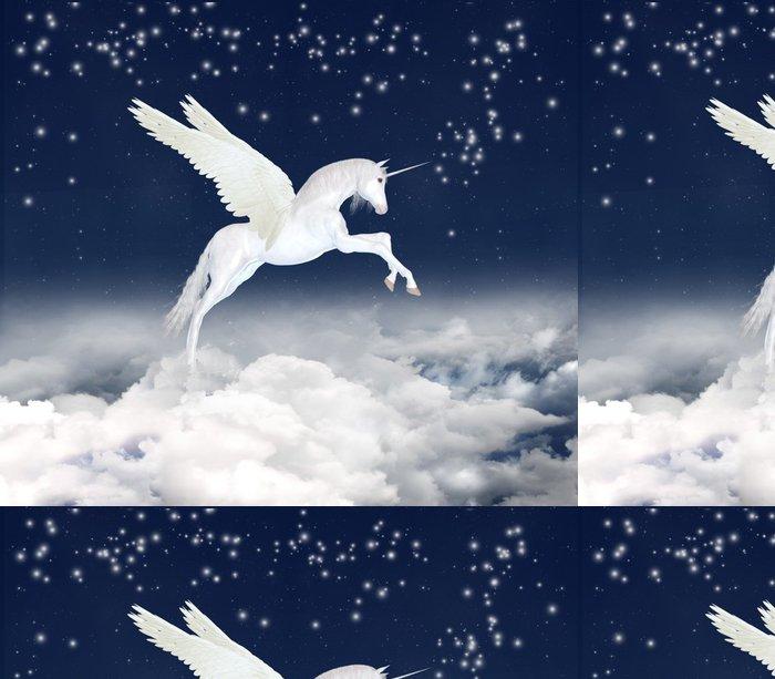 Tapeta Pixerstick Unicorn na obloze - Témata