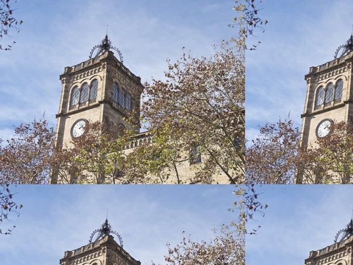Tapeta Pixerstick University of Barcelona, Španělsko. - Prázdniny