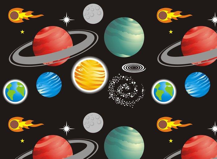 Tapeta Pixerstick Universo - Meziplanetární prostor