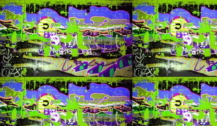 Vinylová Tapeta Urban graffiti stěna - Témata