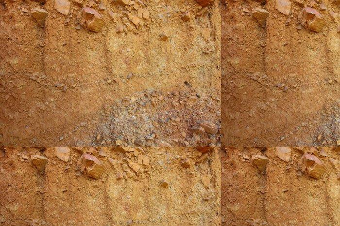Tapeta Pixerstick Úroveň laterite podle geologie v horké zóny - Vzdělávání