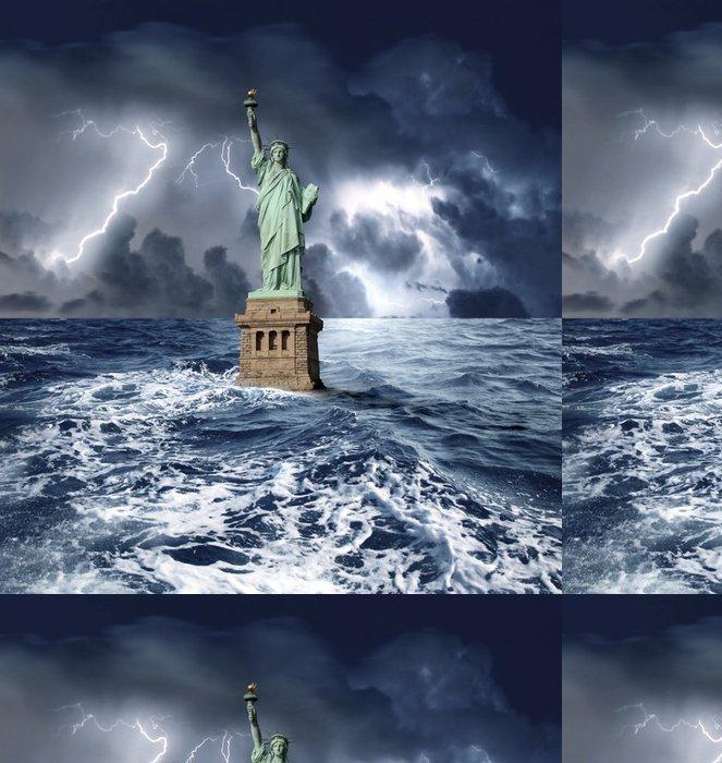 Tapeta Pixerstick Usa krize - Finance