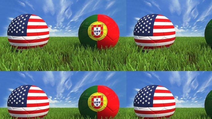 Tapeta Pixerstick USA Portugalsko - Úspěch