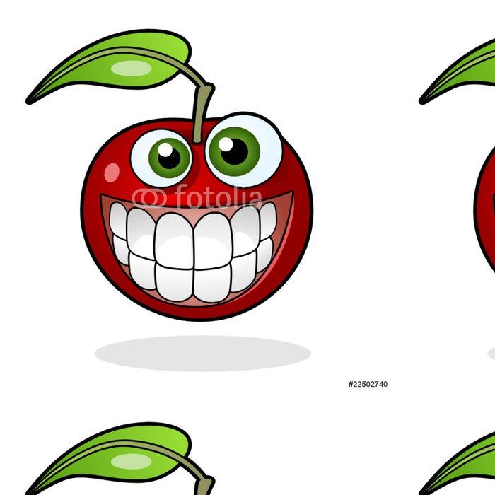 Tapeta Pixerstick Usmívající se apple -