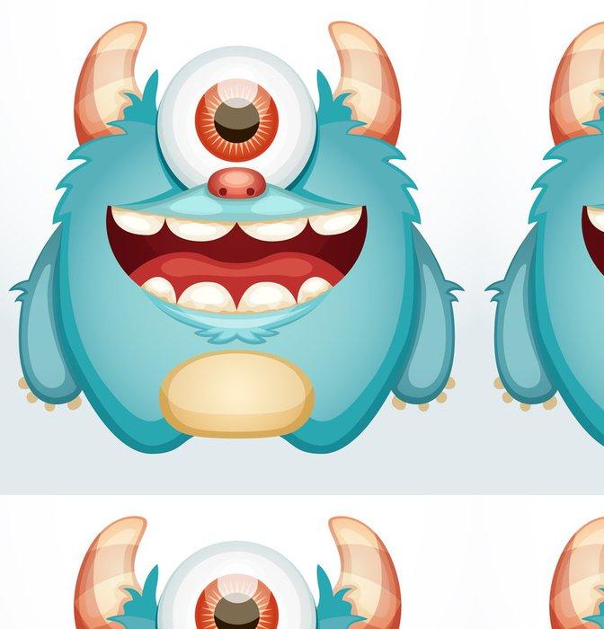 Tapeta Pixerstick Usmívající se netvor - Imaginární zvířata