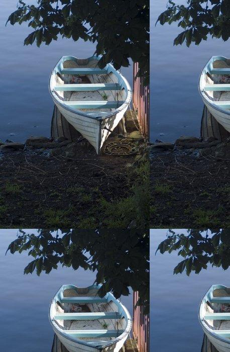 Tapeta Pixerstick Uvázány řada lodí - Prázdniny