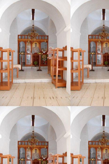 Tapeta Pixerstick Uvnitř Agios Georgios z Heronissos církev - Sifons - Kyklady - Evropa