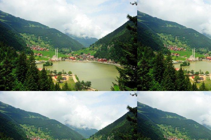 Tapeta Pixerstick Uzungöl Trabzon - Lesy