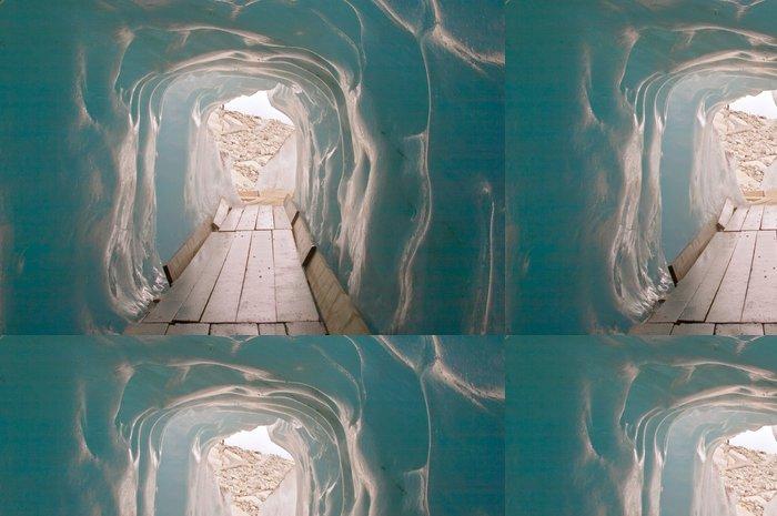 Tapeta Pixerstick V ledové jeskyni - Evropa
