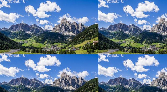 Tapeta Pixerstick Val Badia - Hory