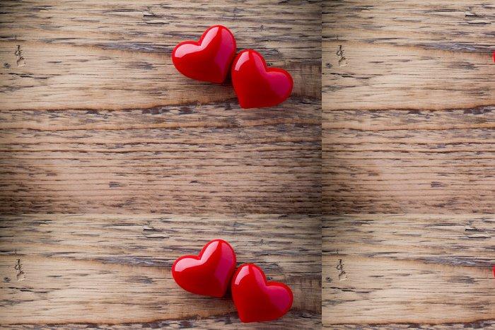 Tapeta Pixerstick Valentines Day pozadí s Hearts - Mezinárodní svátky