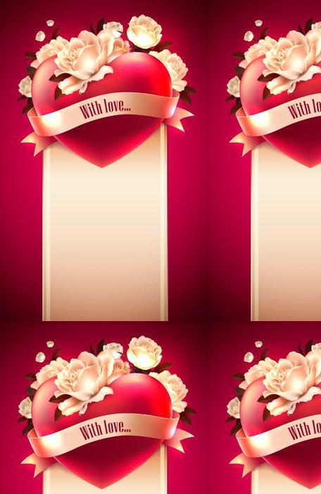 Tapeta Pixerstick Valentýn přání - Mezinárodní svátky