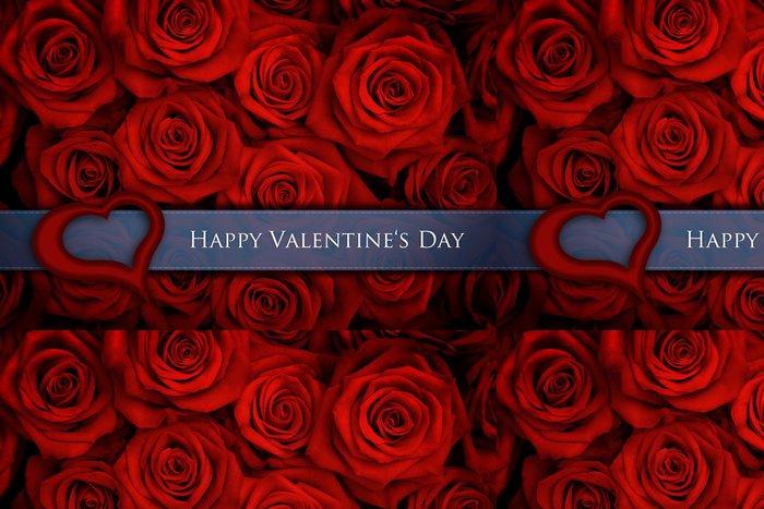 Vinylová Tapeta Valentýnka - Mezinárodní svátky