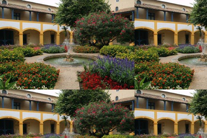 Tapeta Pixerstick Van Gogh zahrada v Arles (Francie) - Umění a tvorba