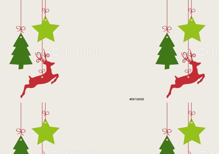 Tapeta Pixerstick Vánoční dekorace - Mezinárodní svátky