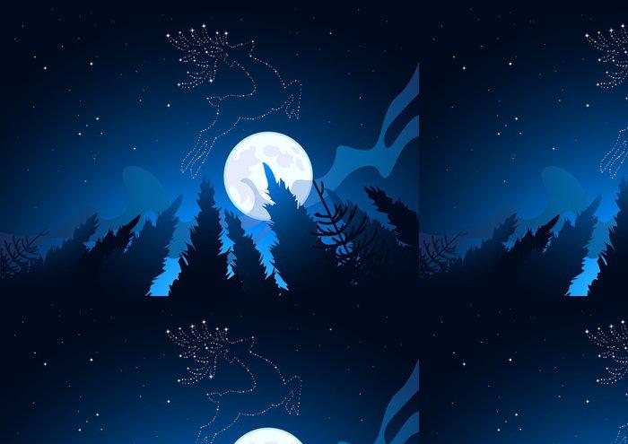 Tapeta Pixerstick Vánoční hvězda souhvězdí - Mezinárodní svátky