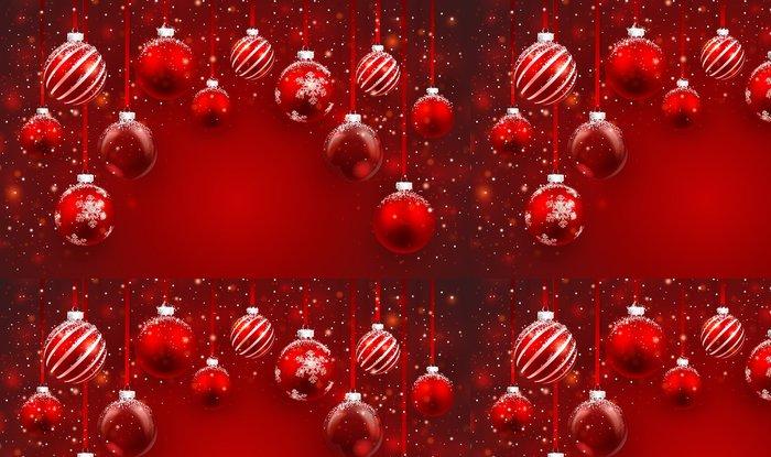 Vinylová Tapeta Vánoční koule - Mezinárodní svátky