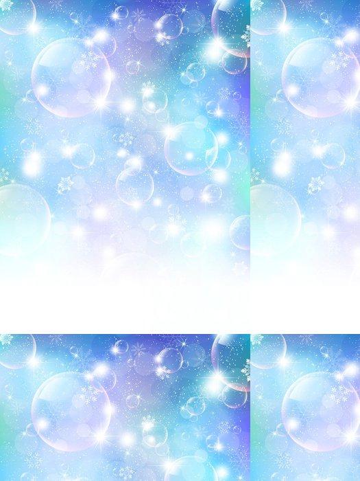 Vinylová Tapeta Vánoční sníh pozadí - Mezinárodní svátky