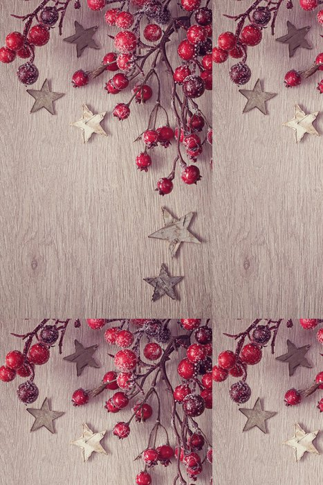 Tapeta Pixerstick Vánoční strom dekorace - Mezinárodní svátky