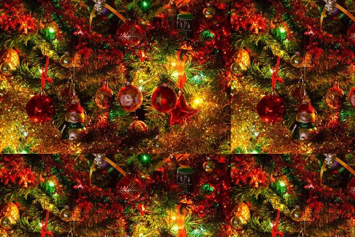 Tapeta Pixerstick Vánoční stromeček - Pozadí