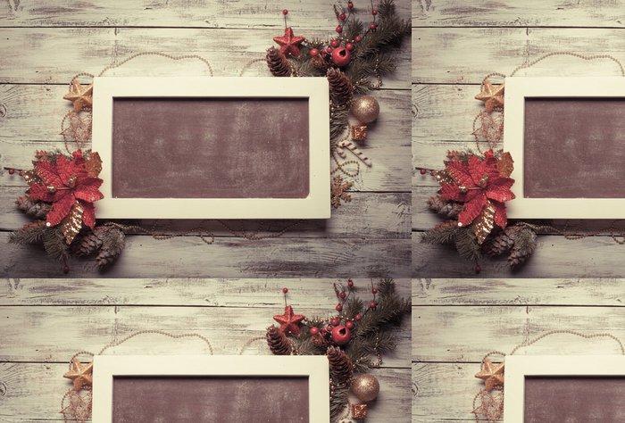 Tapeta Pixerstick Vánoční tabule - Slavnosti