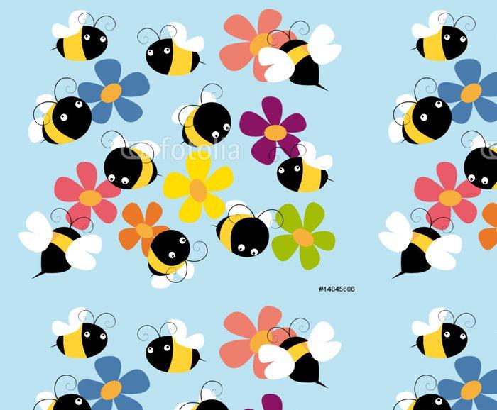 Vinylová Tapeta Včely - Roční období