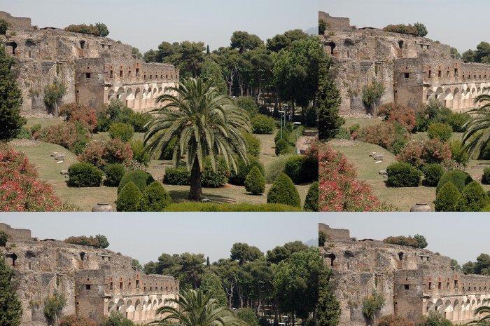 Tapeta Pixerstick Vchod do ruin v Pompejích, Itálie - Evropa