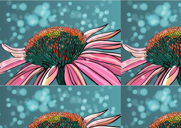 Tapeta Pixerstick Vector Flower - Pozadí