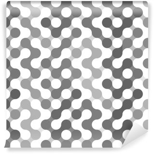Tapeta Pixerstick Vektor geometrický vzor kruhů.