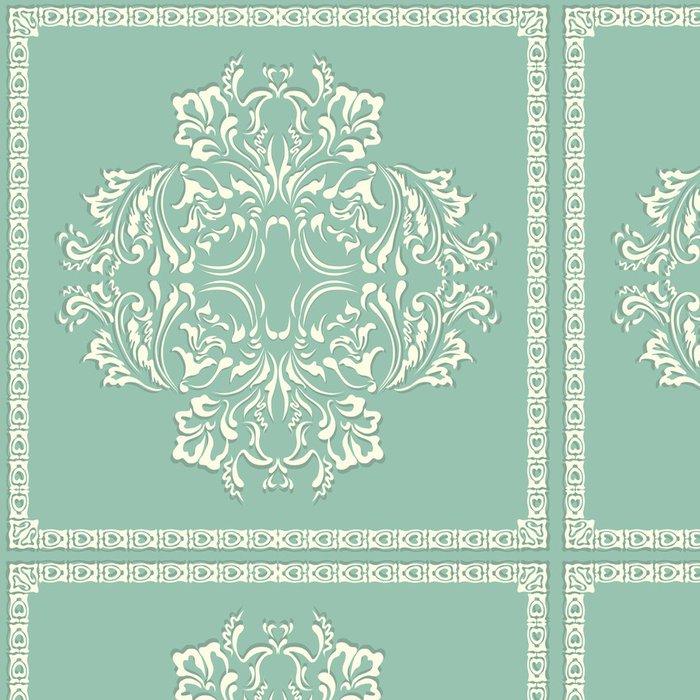 Vinylová Tapeta Vektor vířící vzor, květinové prvky pro konstrukci květiny - Struktury