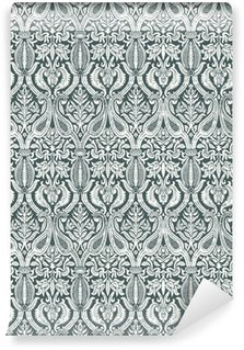 Vinylová Tapeta Vektorové bezešvé květinový vzor damašek vinobraní abstraktní poza