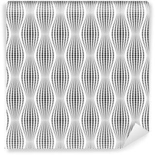 Vinylová Tapeta Vektorové bezešvé textury. Moderní abstraktní pozadí. Geometrické vzory bodů.