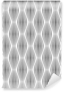 Tapeta Pixerstick Vektorové bezešvé textury. Moderní abstraktní pozadí. Geometrické vzory bodů.