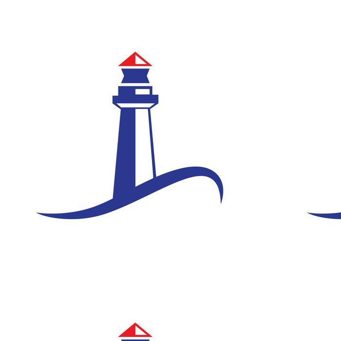 Tapeta Pixerstick Vektorové logo maják - Značky a symboly