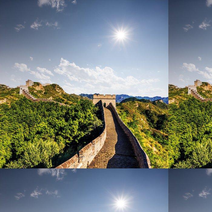 Tapeta Pixerstick Velká čínská zeď - Asie
