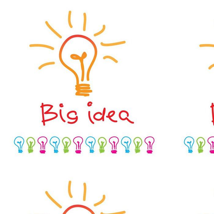 Tapeta Pixerstick Velká idea - Jiné pocity