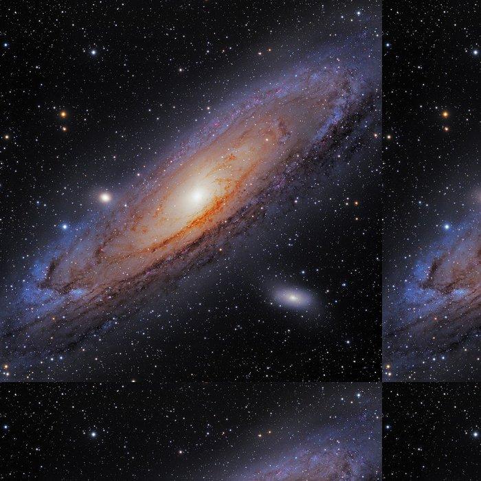 Tapeta Pixerstick Velká spirální galaxie. - Vesmír