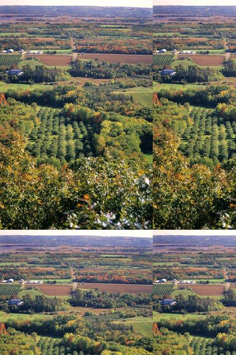 Tapeta Pixerstick Venkova Nova Scotia pád - Zemědělství