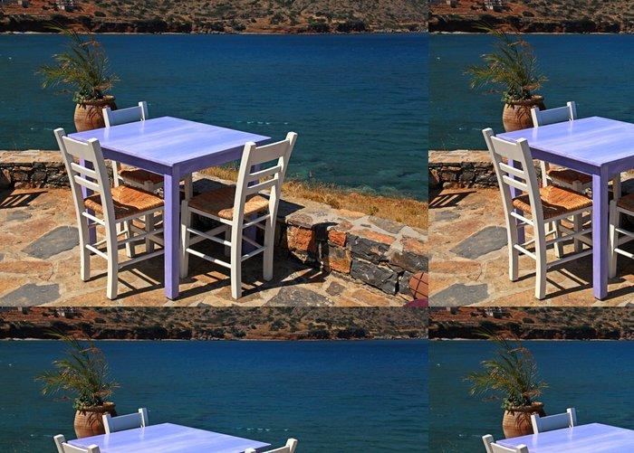 Tapeta Pixerstick Venkovní restaurace v Řecku - Evropa
