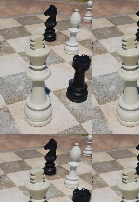 Tapeta Pixerstick Venkovní šachy - Hry