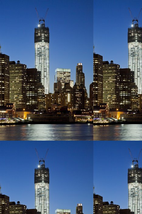 Tapeta Pixerstick Věž svobody v New Yorku - Amerika