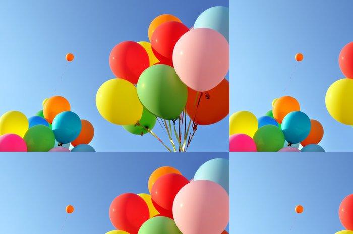 Tapeta Pixerstick Vícebarevný balóny. - Zábava